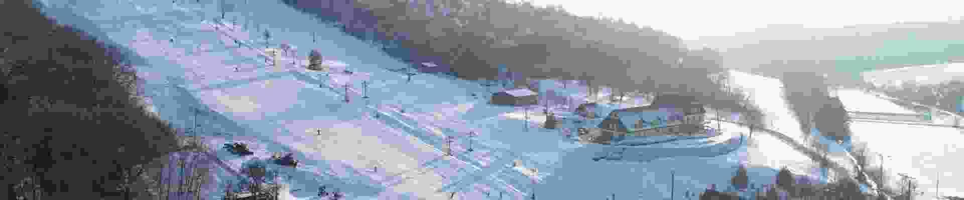 lyžování v ski park Osvětimany